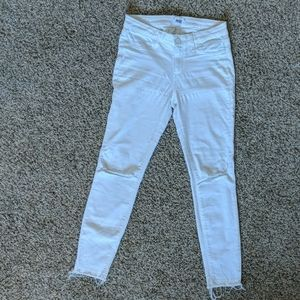 Paige verdugo ankle white jeans size 29